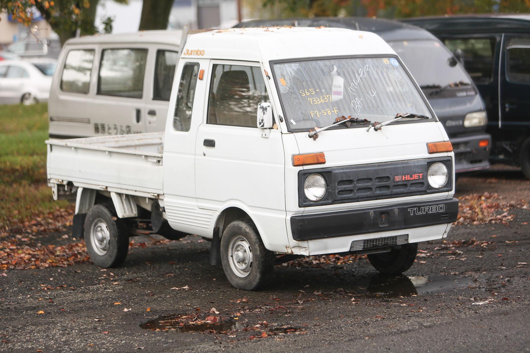 1986 Daihatsu Hijet Jumbo - $7,950