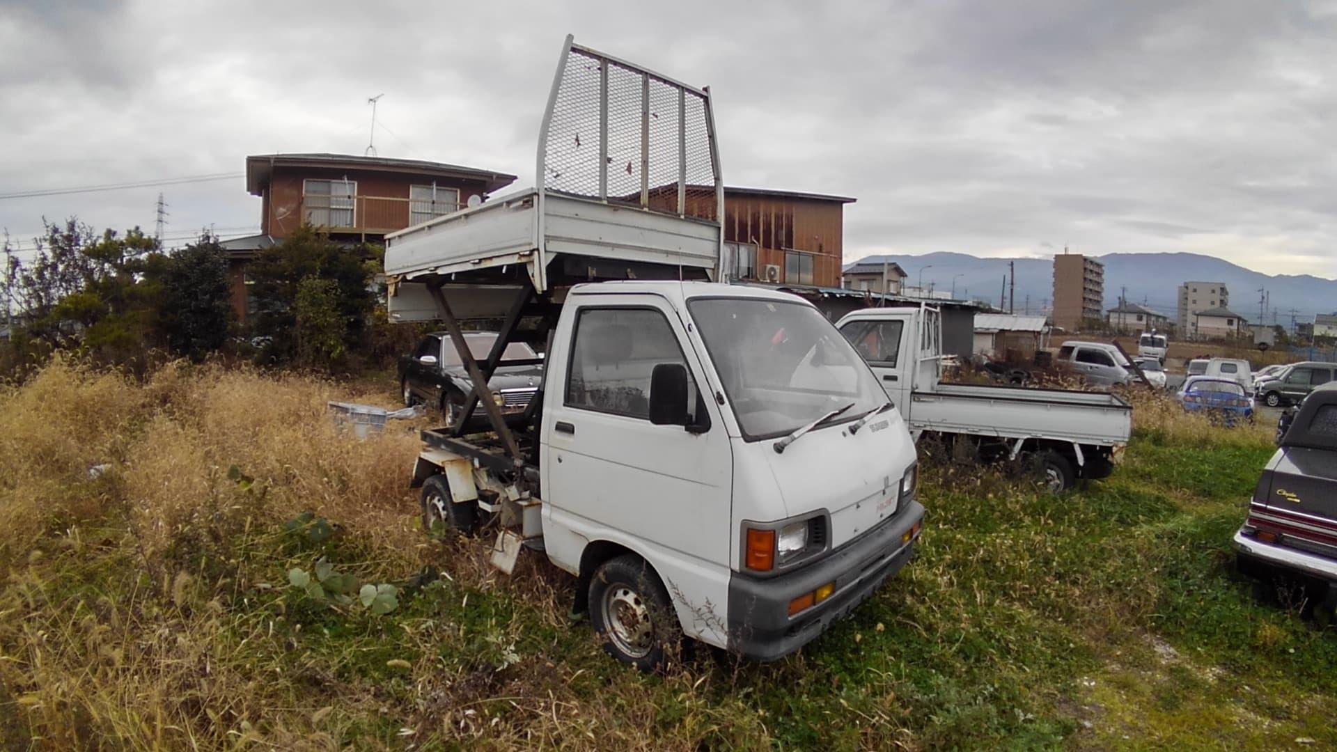Daihatsu Hijet Climber 4WD - Scissor Lift