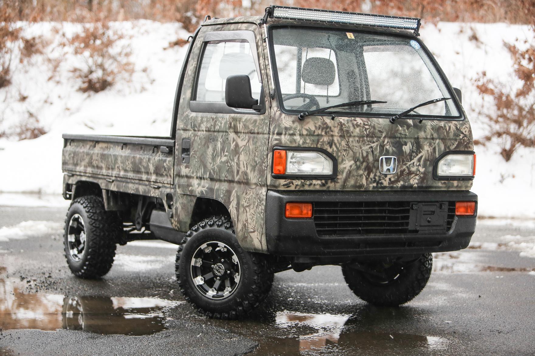 1992 Honda ACTY ATTACK - $6,750
