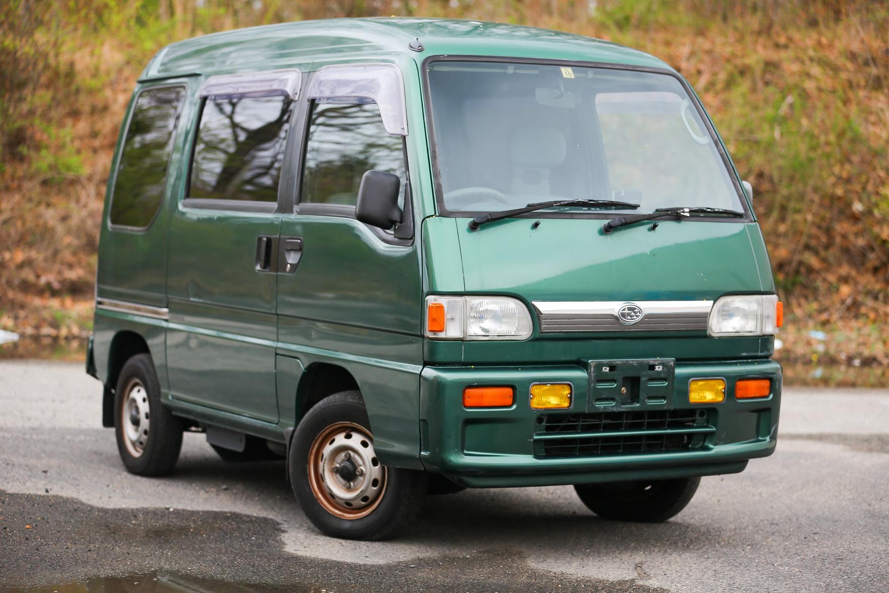 1996 Subaru Sambar Van - $8,500