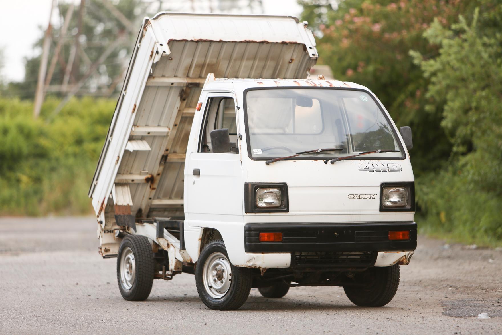 1989 Suzuki Carry 4WD DUMP - $6,150