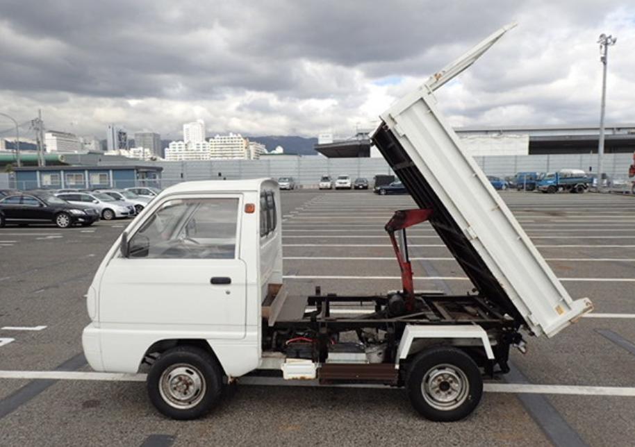 1990 Suzuki Carry 4WD Dump
