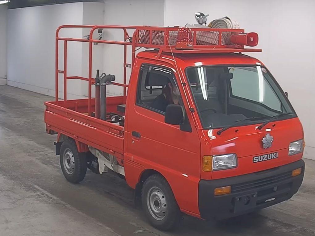 1996 Suzuki Carry Fire Truck - JUST ARRIVED
