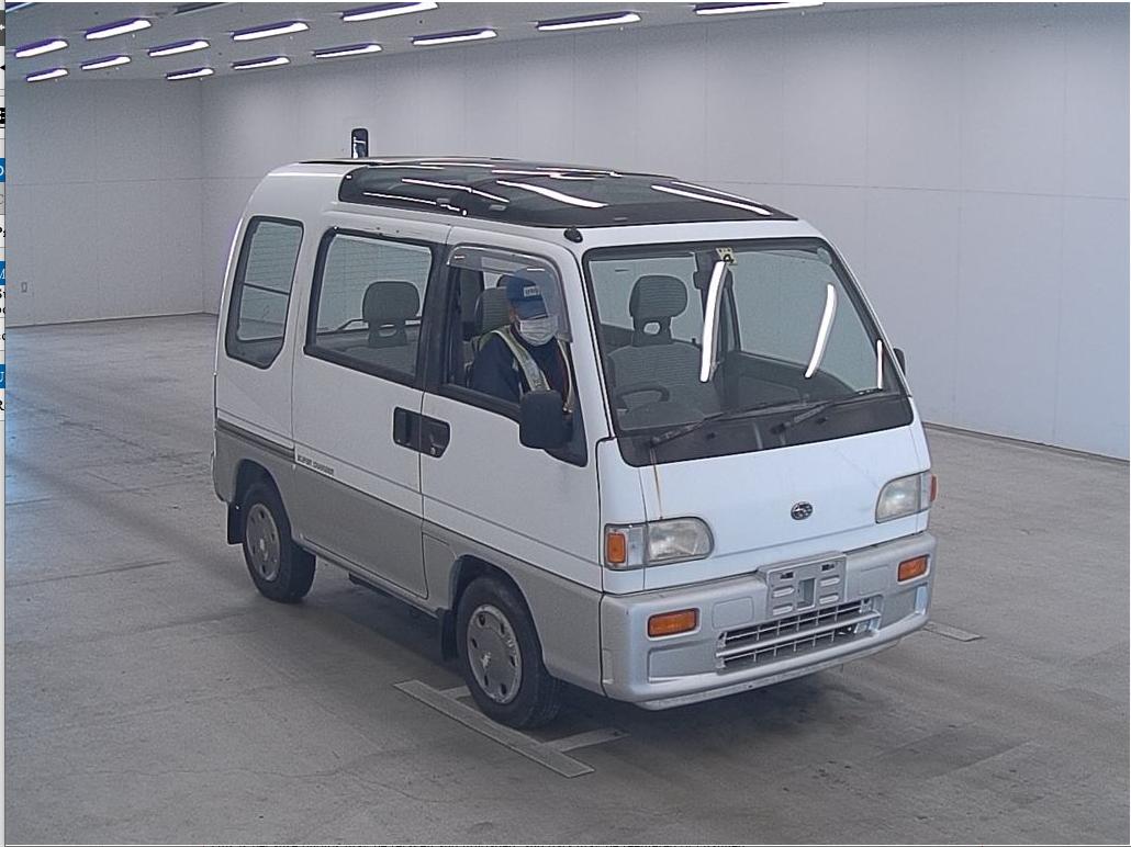 1991 Subaru Sambar Van Supercharger - $8,900